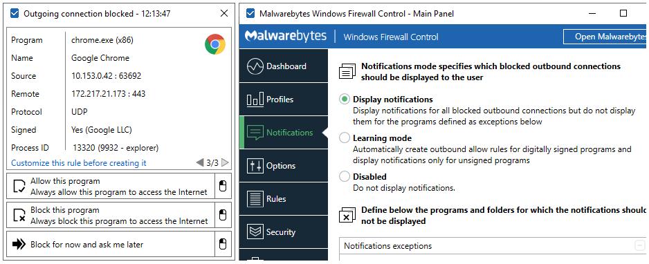 Windows 7 Windows Firewall Control 6.7.0.0 full